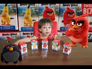 Свит Бокс Открываем Sweet Box с птичками Angry Birds