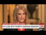 Kellyanne Conway CNN Interview Talks About Confronting Trump , Allegations , Says We ll Win
