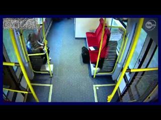 Польша авария электрички Poland Brave train driver warns people before the collision with truck