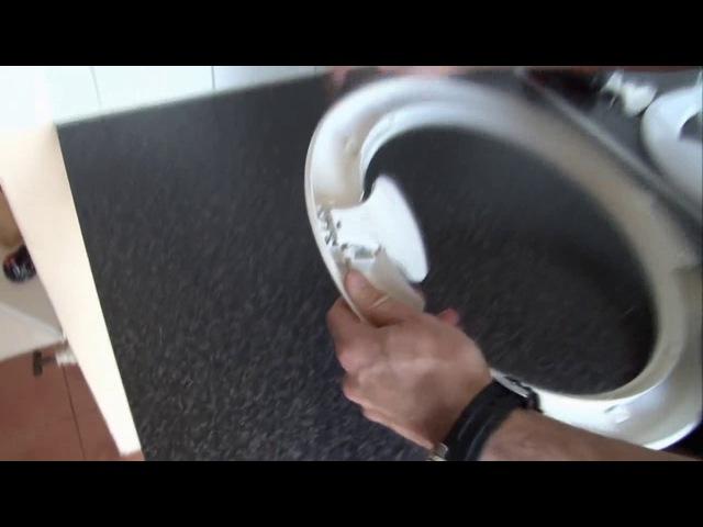 Как заменить ручку дверцы на стиральной машине Indesit