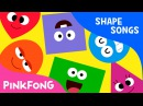 Shapes Are All Around | Shape Songs | PINKFONG Songs