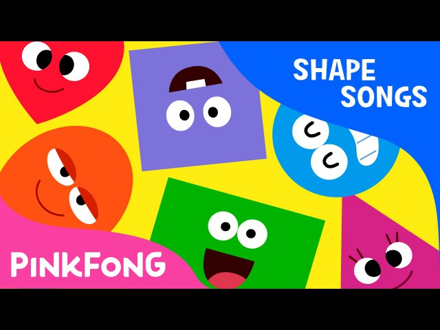 Shapes Are All Around Shape Songs PINKFONG Songs