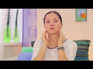 Фейсбилдинг с Евгенией Баглык. Упражнения для подбородка