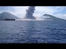 Вот так выглядит извержение вулкана.