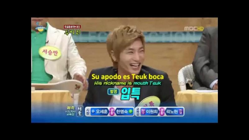 Leeteuk y Eunhyuk hablan sobre el rol del líder (Sub. Esp-Ing)