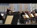 Прокопенко Дарья, репетиция с оркестром, 5 января 2017 г.