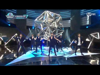MONSTA X - Mirotic [DBSK cover] [Special Stage] M COUNTDOWN EP.475 [160526]