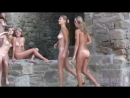 Молодые нудистки на Генуэзской крепости (Судак, Республика Крым)