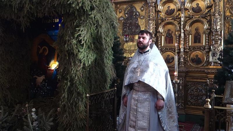 Иерей Дмитрий Трифонов. Проповедь по запричастном стихе в крещенский Сочельник 2017