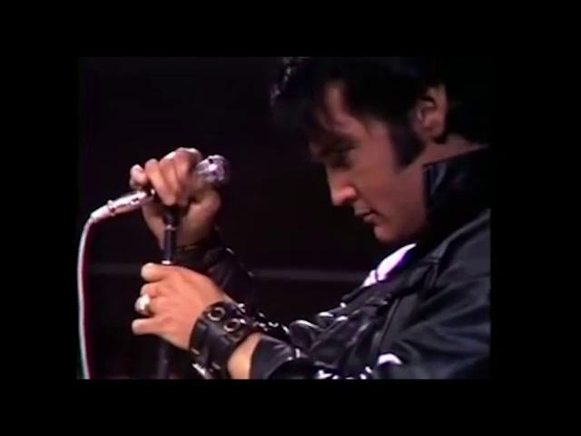 Musicless Musicvideo ELVIS PRESLEY live at NBC Studios 1968
