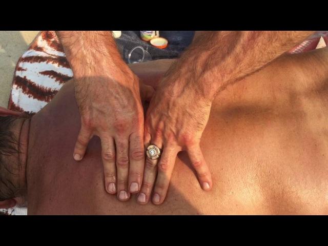 Как убрать боли в спине и межпозвоночные грыжи простыми приёмами массажа от Пруткова Евгения!
