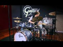 Yann Coste et la nouvelle Gretsch Renown Maple Rock 22