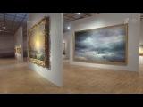 В Третьяковской галерее на Крымском валу начинает работу выставка картин Ивана Айвазовского.