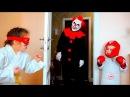 КЛОУН КИЛЛЕР В ШОКЕ ОТ ЭТИХ ДЕТЕЙ / SCARY KILLER CLOWN ATTACKS KIDS PRANK