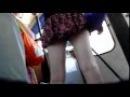 мини юбка в тролейбусе