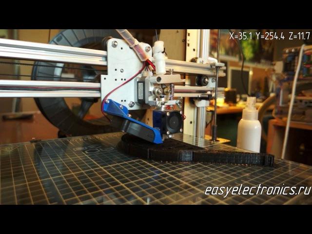 Восстановление печати 3D принтера после выключения или сбоя.
