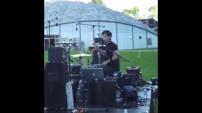 Josh Dun singing