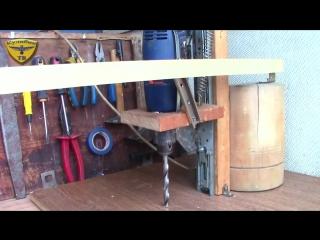 Как сделать сверлильный станок _ Homemade Drill Press