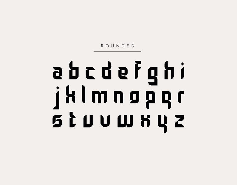 Download Gothic Tangram font (typeface)