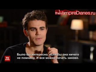 The Vampire Diaries ~ What to Say to Elena When She Wakes Up Русские субтитры