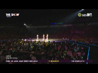 Gfriend  - me gustas tu @  the show summer special 160628