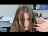 Модная прическа для девочки за 5 минут - Прическа для фотосессии и в школу ♥ Lovely Kids