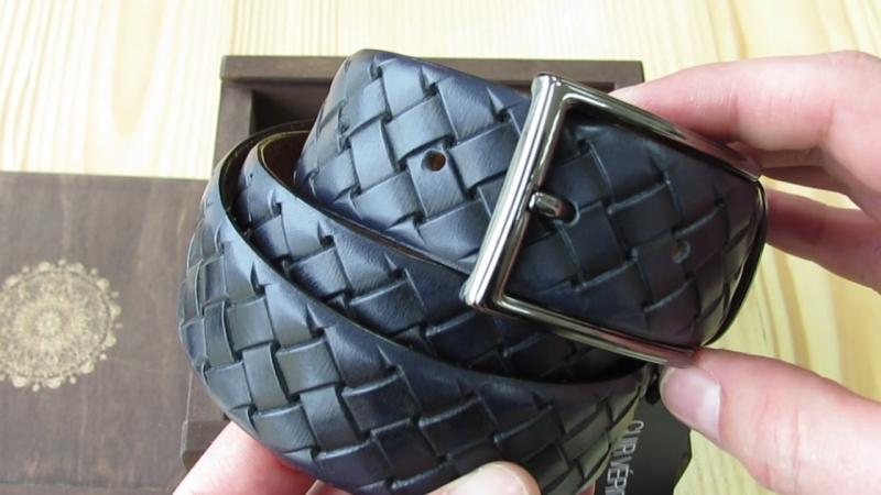 Шкіряний ремінь 150 см довжина та ширина 35 мм Італія Lucky Jeans Дрогобич