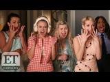 Lea Michele, Emma Roberts And 'Scream Queens' Cast Talk Season Two Spoilers | SDCC 2016