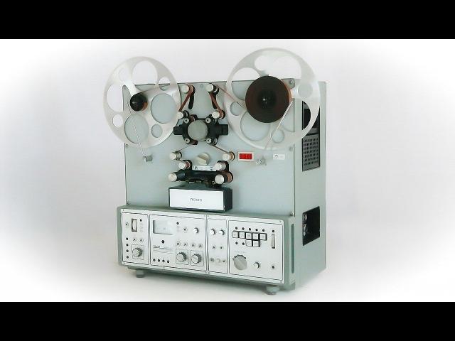 Обзор Катушечный магнитофон Ломо КЗМП-11 25Д-79 Россия 1992 год