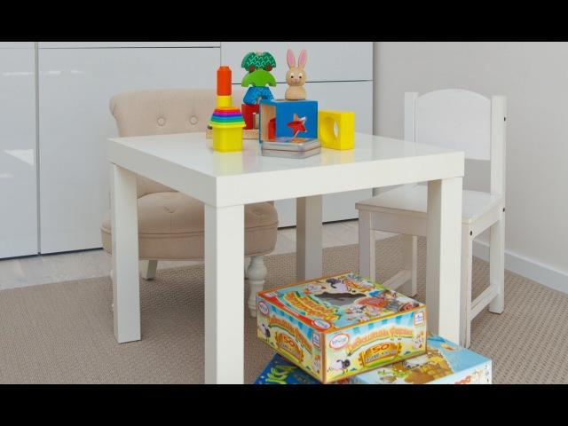 Детский психолог В. Паевская. Детская комната, хранение игрушек (от 0 до 12 лет)