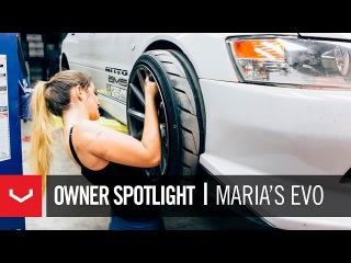 Vossen Owner Spotlight | Maria's 500hp Mitsubishi EVO VIII | 19