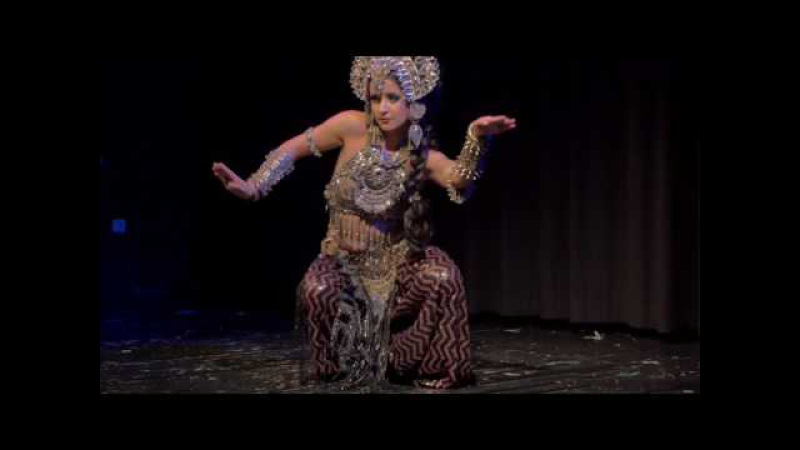 Kira Lebedeva aka Habibi Lal @ TribalFestion: Vienna International Dance Event 2016