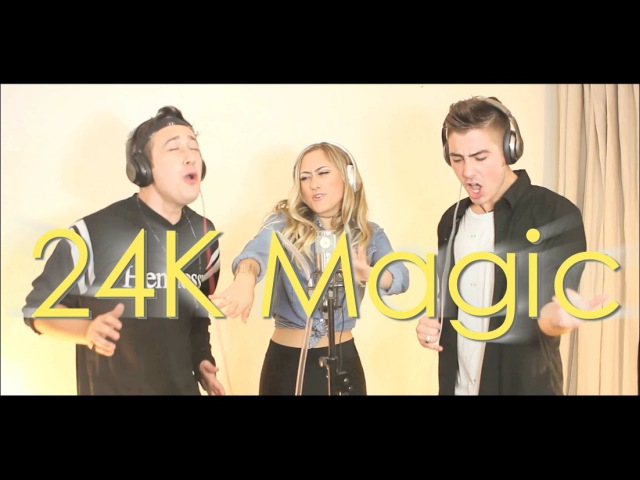 24K Magic - Bruno Mars [COVER BY THE GORENC SIBLINGS]