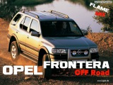 Opel Frontera OFF Road 4X4 TRIAL