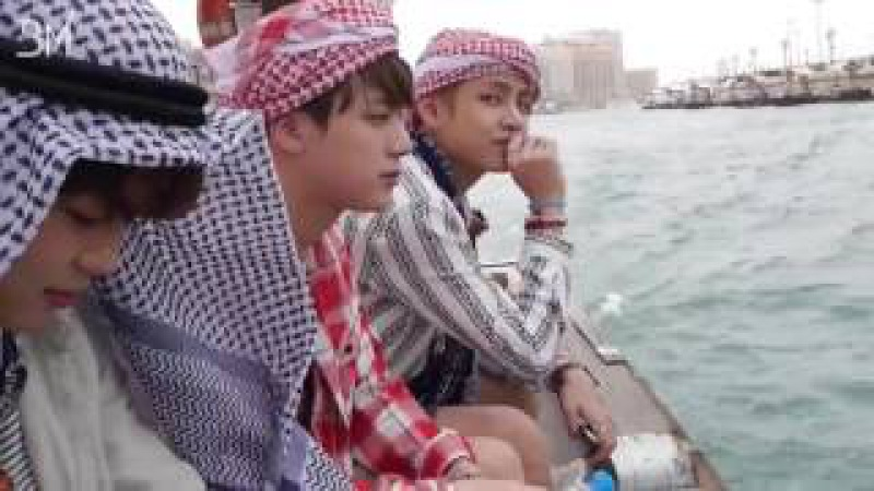 RUS SUB 19 07 16 Summer Package 2016 BTS in DUBAI