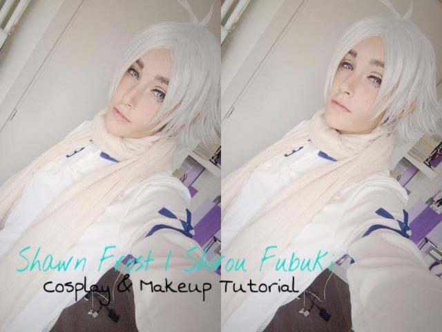 Shirou Fubuki Shawn Frost Cosplay Makeup Tutorial Inazuma Eleven