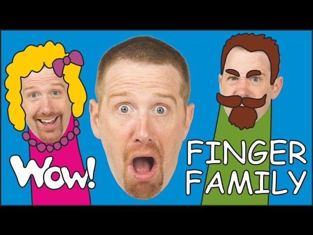 Ice Cream Finger Family Steve and Maggie English Stories for Kids from Wow English TV