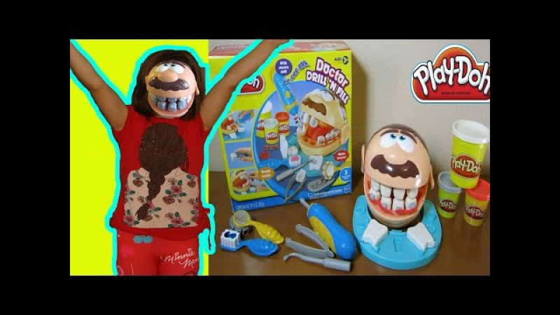 Diş Doktoru Oyuncak Kutusunu Açma | Doctor Drill N Fill box opening