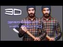 Как сделать фотографию для АНАГЛИФНЫХ очков 3D