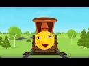 Смышленый Паровозик - Все серии подряд - Веселые обучающие песни для детей