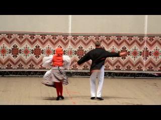 ФИНСКИЙ ТАНЕЦ на Отчётном - 2016 - Народный ансамбль танца РАДОСТЬ, г. Днепр