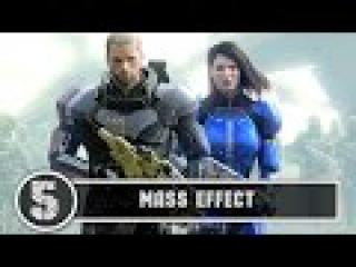 [5] Mass Effect [ПРОХОЖДЕНИЕ] Evgen спасает галактику: Первый босс