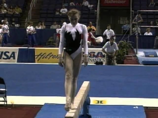 Svetlana Tarasevich - Balance Beam - 1994 Hilton Challenge - Women