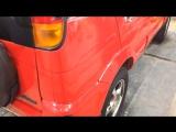 Toyota Cami после полировки.