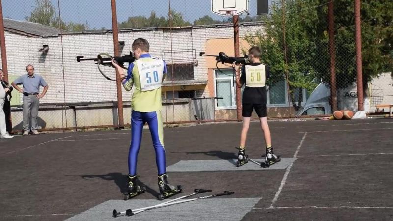 Біатлоністи показують мастер-клас