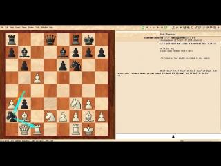 Самара, мемориал Полугаевского, 9-ый тур, Важенин Алексей - Заика Даниил 1-0 Моя лучшая партия в турнире.