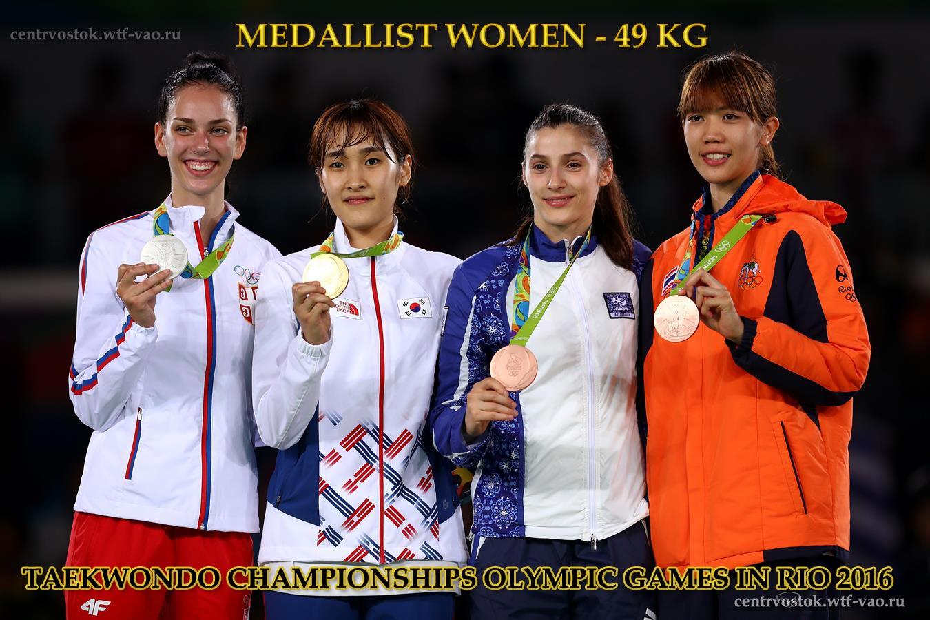Rio_Medallist_TKD_Women-49kg