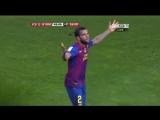 Гол в ворота Реала и танец Дани Алвеса〡by ALEX ♬