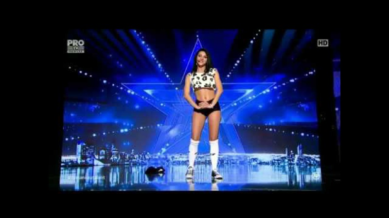 Romanii au Talent - Simion Lacramioara 2016 LIVE