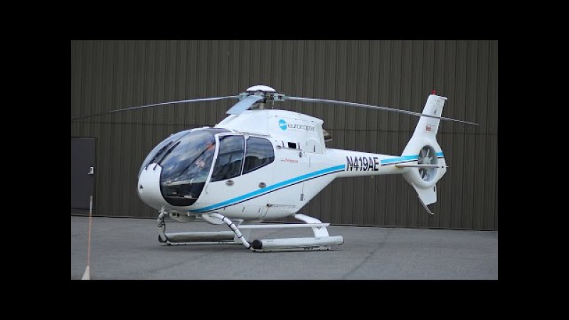 Airbus Eurocopter EC120B Colibri helicopter flight and review how to fly